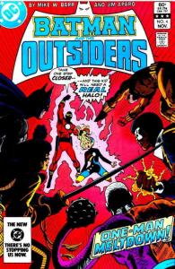 Batman and the Outsiders #4 FN; DC | save on shipping - details inside