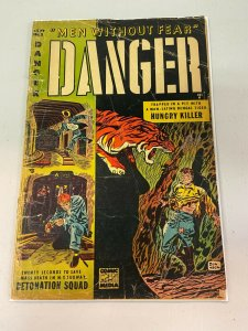 Danger 5  FR 1953 Comic Media Don Heck Cover