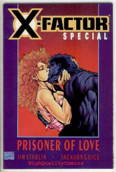 X-FACTOR SPECIAL  PRISONER OF LOVE, Jim Starlin, NM-, more in store