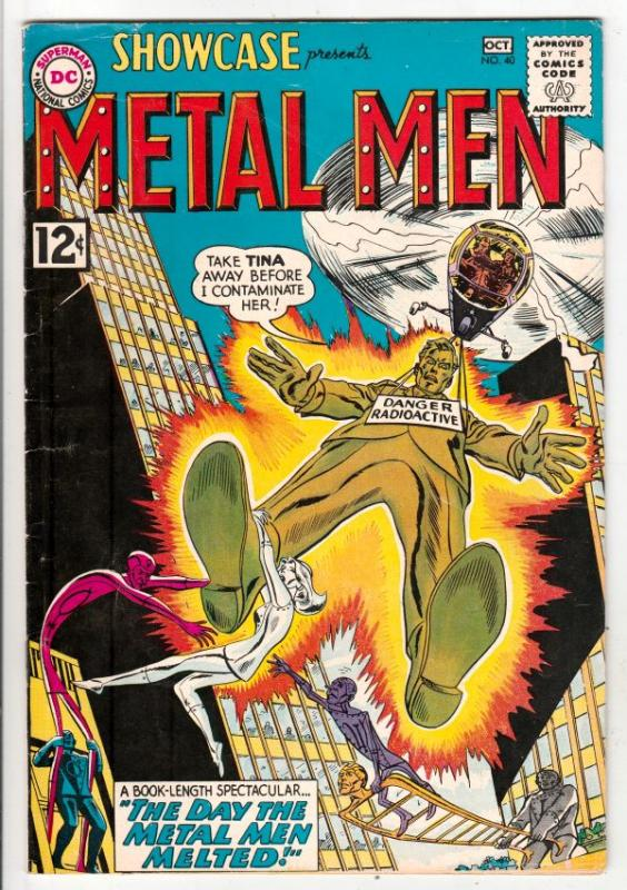 Showcase #40 (Oct-62) FN/VF Mid-High-Grade The Metal Men (Gold, Lead, Mercury...