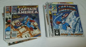 Captain America V1 #365-399 (missing 7) + 403,409 + Gruenwald, comics lot of 38