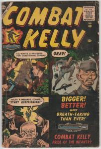 Combat Kelly #40 (Dec-56) VG Affordable-Grade Combat Kelly