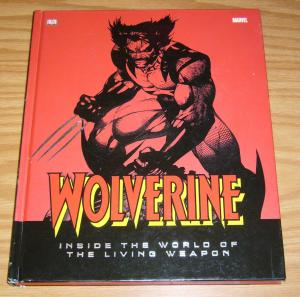Wolverine: Inside the World of the Living Weapon HC hardcover - marvel/DK book
