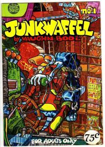 JUNKWAFFEL 1 F( 2nd PR, 75 Cent Cover Price) Bode! 1988