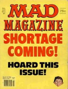 Mad #221 VG; E.C | low grade comic - save on shipping - details inside