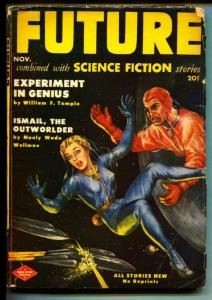 Future Science Fiction-Pulp-11/1951-Milton Lesser-William F. Temple