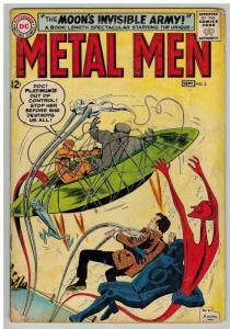 METAL MEN 3 GOOD    September 1963 COMICS BOOK