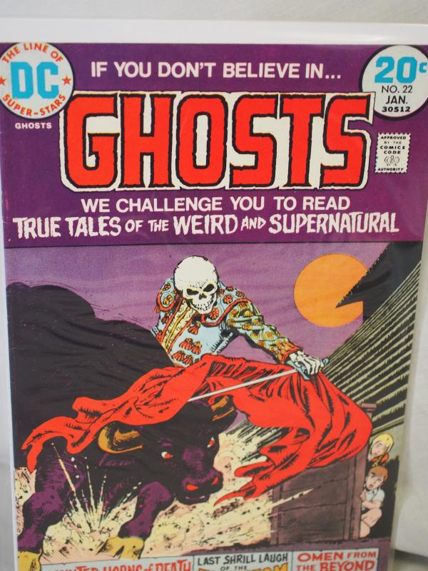 If You Don't Believe in Ghosts 22 F/VF condition.  1974