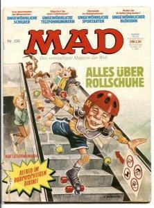 Mad Magazine #136- GERMAN EDITION- Star Trek- Roller Skating