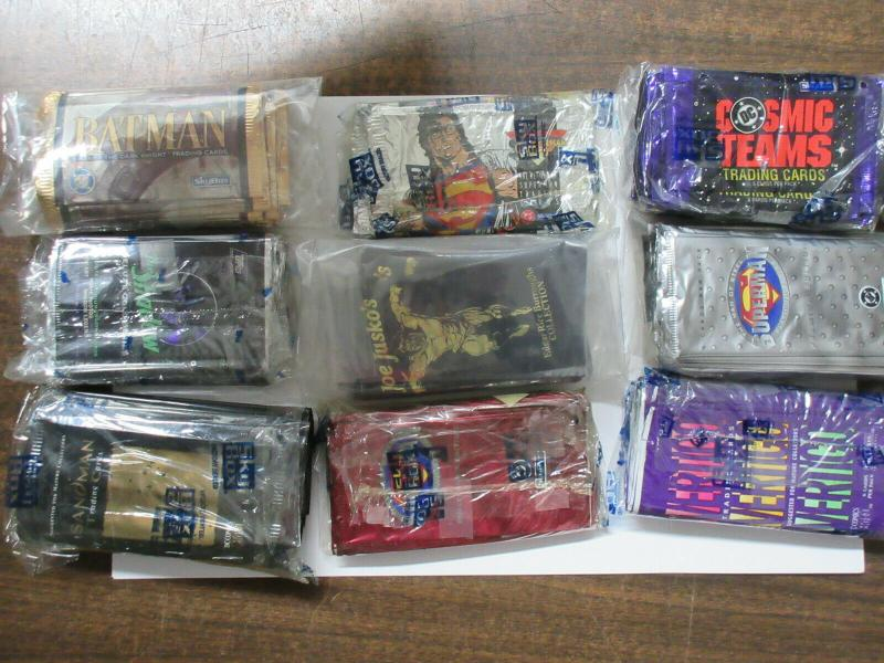 1990s Trading Card Wrapper Collection Sandman Penthouse Superman WYSIWG