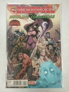 Mrs. Deadpool and the Howling Commandos #4 Marvel Comic NW61