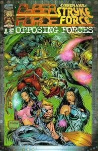Cyberforce, Stryke Force: Opposing Forces #1 VF/NM; Image | save on shipping - d