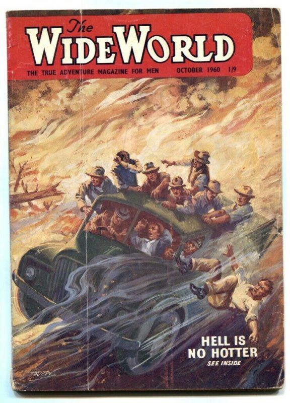 The Wide World Pulp October 1960-Hell is No Hotter.