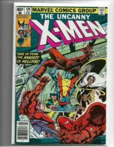 Uncanny X-men # 129 1st appearance Emma Frost and Kitty Pryde NM