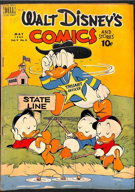 Walt Disney's Comics And Stories #104 VG/FN 5.0