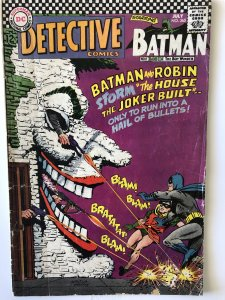 Detective 365,VG,classic Infantino Joker, great ad too