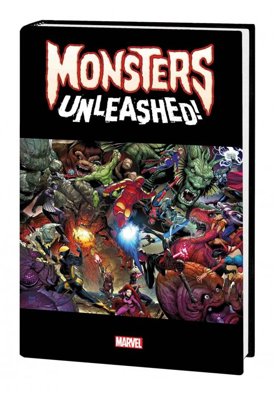 Monsters Unleashed Monster Size HC