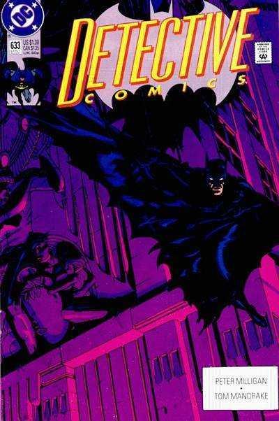 Detective Comics (1937 series) #633, VF+ (Stock photo)