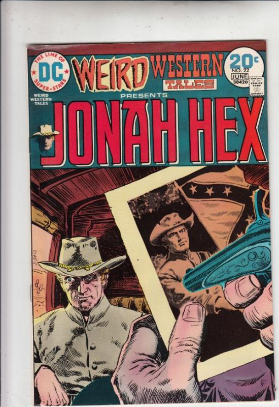 Weird Western Tales #22 (Apr-73) NM- High-Grade Jonah Hex