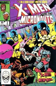 X-Men and the Micronauts #2, NM- (Stock photo)