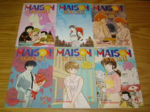 Maison Ikkoku part 3 #1-6 VF/NM complete series - viz select comics manga three