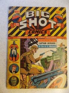 BIG SHOT COMICS # 13 GOLDEN AGE ACTION ADVENTURE 1ST SKYMAN