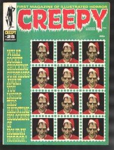 Creepy  #25 1968-Christmas issue-Horror with art by Steve Ditko-Dan Adams-Gen...