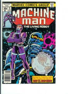Machine Man #5 - Bronze Age - Aug. 1978 (VF)