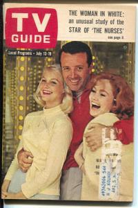 TV Guide 7/18/1963-The Nurses-Shirl Conway-Ron Howard-Vic Damone-VG