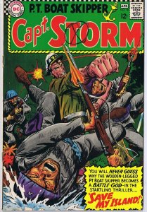 Capt Storm #18 ORIGINAL Vintage 1967 DC Comics Final Issue