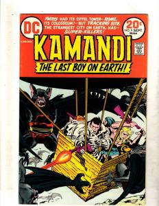 Kamandi # 9 VF/NM DC Comic Book Jack Kirby Fourth World Bronze Age FM2