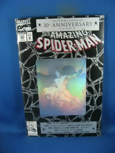 AMAZING SPIDERMAN 365 VF- WITH VENOM CARNAGE POSTER ATTACHED 1992