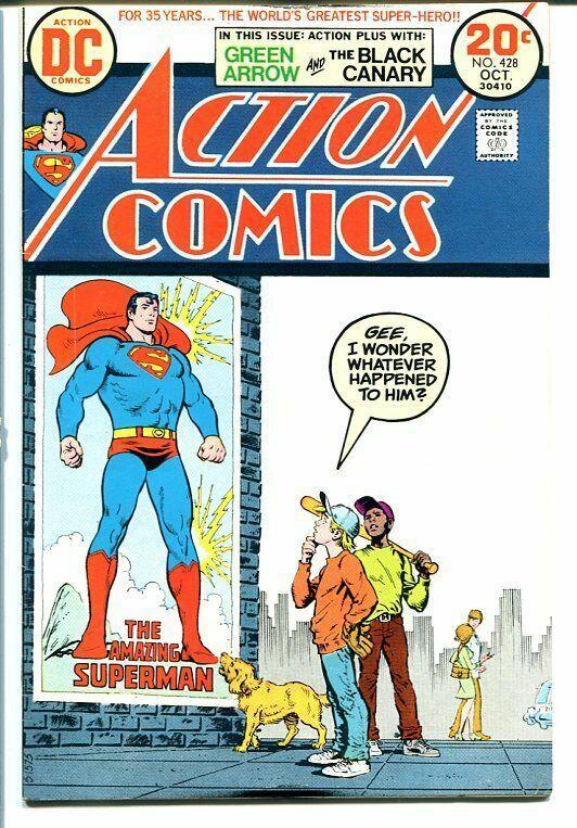 ACTION COMICS #428 1973-SUPERMAN VF-