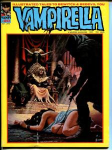 Vampirella #20 1972-Warren-bondage cover-horror issue-FN