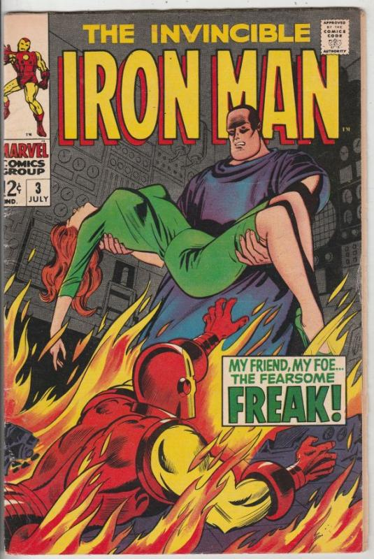 Iron Man #3 (Jul-68) VF High-Grade Iron Man