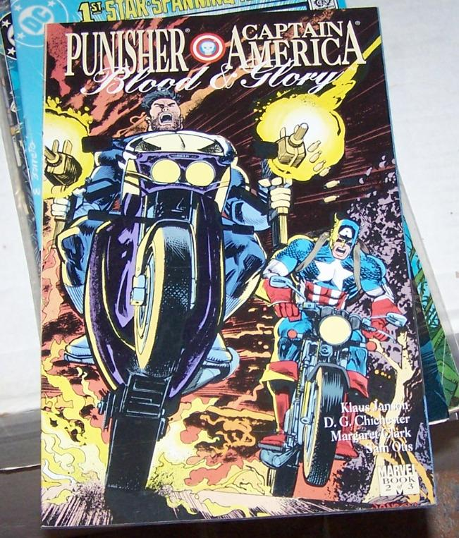 Blood and Glory [Punisher / Captain America] #2 (Nov 1992, Marvel) NICK FURY