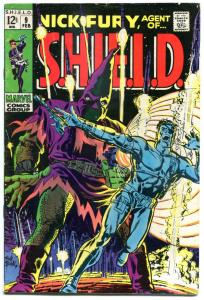 NICK FURY, AGENT of SHIELD #9 10 11, FN FN+ FN+, Hate, Xmas, 1968, Silver age