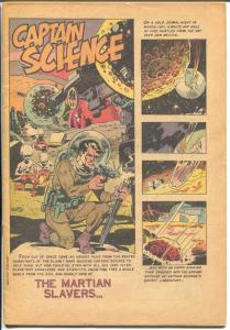 Captain Science #4 1951-Youthful-Wally Wood-Joe Orlando-P