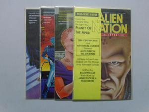 Alien Nation the Spartans, Set:#1-4, 8.0/VF (1990)