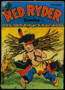 Red Ryder Comics #62 1948- Dell Western Fred Harman FAIR