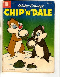 Walt Disney's Chip 'N' Dale # 16 VG- 1959 Silver Age Comic Book Mickey JL16