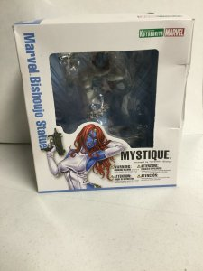 Mystique Marvel Bishoujo Statue Kotobukiya Marvel Box Damaged Statue Is Nib