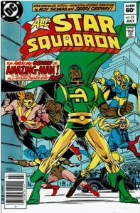 All Star Squadron #23 - Secret Origin of Amazing Man!