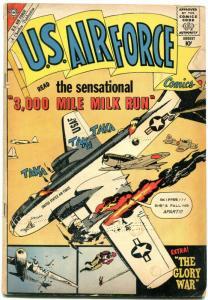 U.S. Air Force #11 1960- Charlton Silver Age War comic- VG
