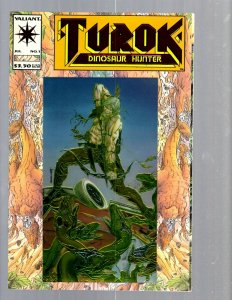 12 Comics Turok #1 Trencher #1 2 Tribe #1 Time Walker #1 Thrax #1 and more EK21