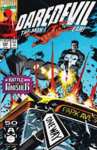 Marvel Comics Daredevil #292 & 293 Punisher NM