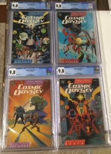 COsmic Odyssey 1 2 3 4 1-4 Cgc 9.8 Full Set White Pages Dc