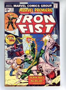 Marvel Premier #22 (Dec-74) NM/NM- High-Grade Iron Fist