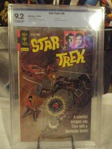 Star Trek #36 CBCS 9.2  NM-  GOLD KEY 1976 Wilson-c McWilliams-a