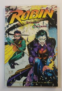 ROBIN TRAGEDY AND TRIUMPH TPB SOFT COVER FIRST PRINT NM